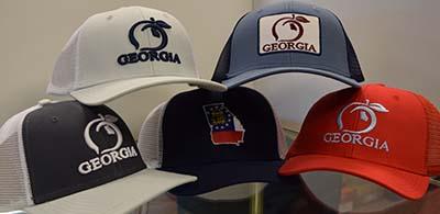 1c3eaee88fbcc9 Peach State Pride Caps Mesh Back Caps