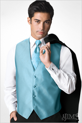 Formal Vests Quinceanera Chambelanes Tuxedos With Blue